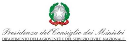 Presidenza del Consiglio dei Ministri – Dipartimento Gioventù